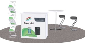 Emerald's booth at the National Construction Summit, Citywest